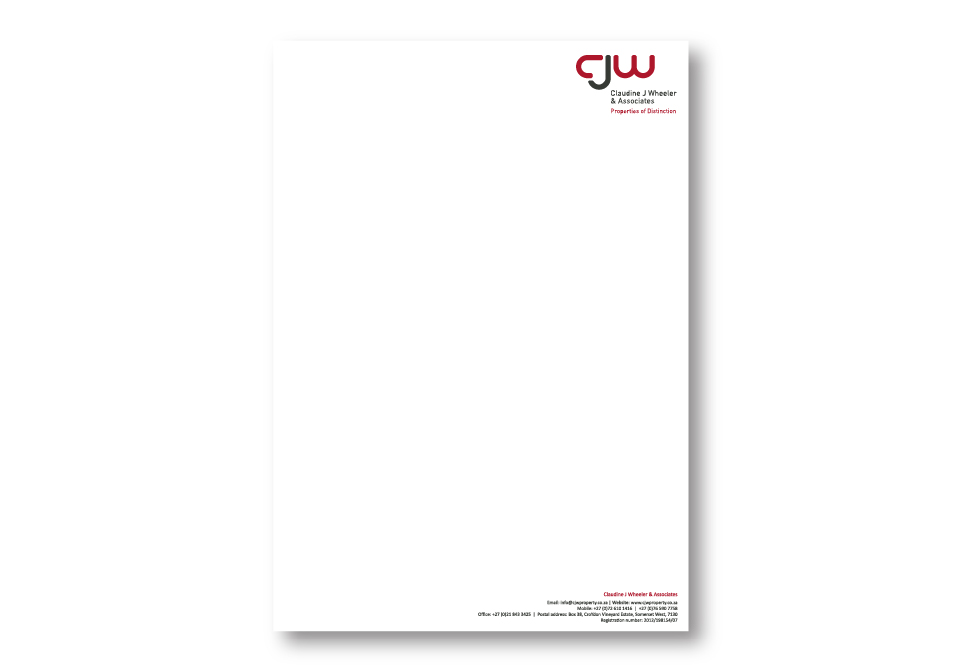 CJW Corporate ID - Letterhead