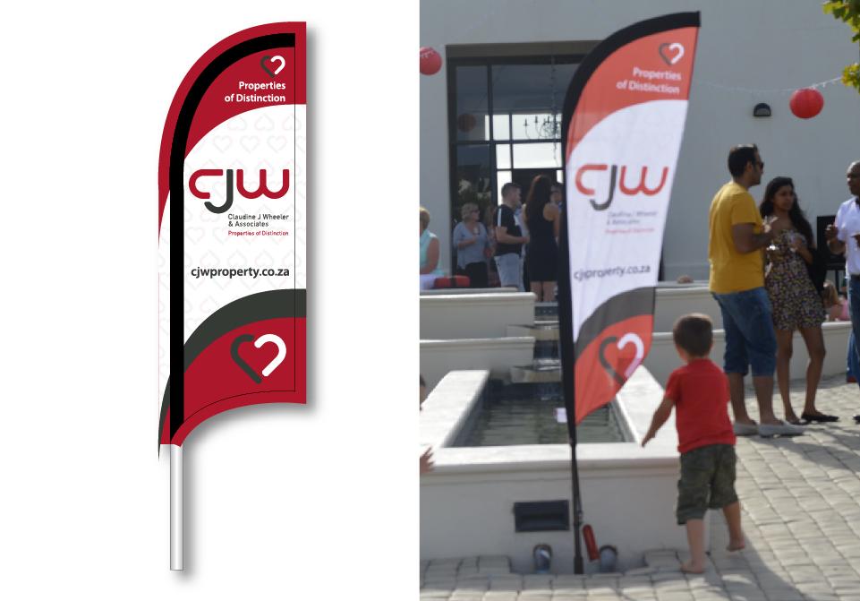 CJW Signage - Flag Banner