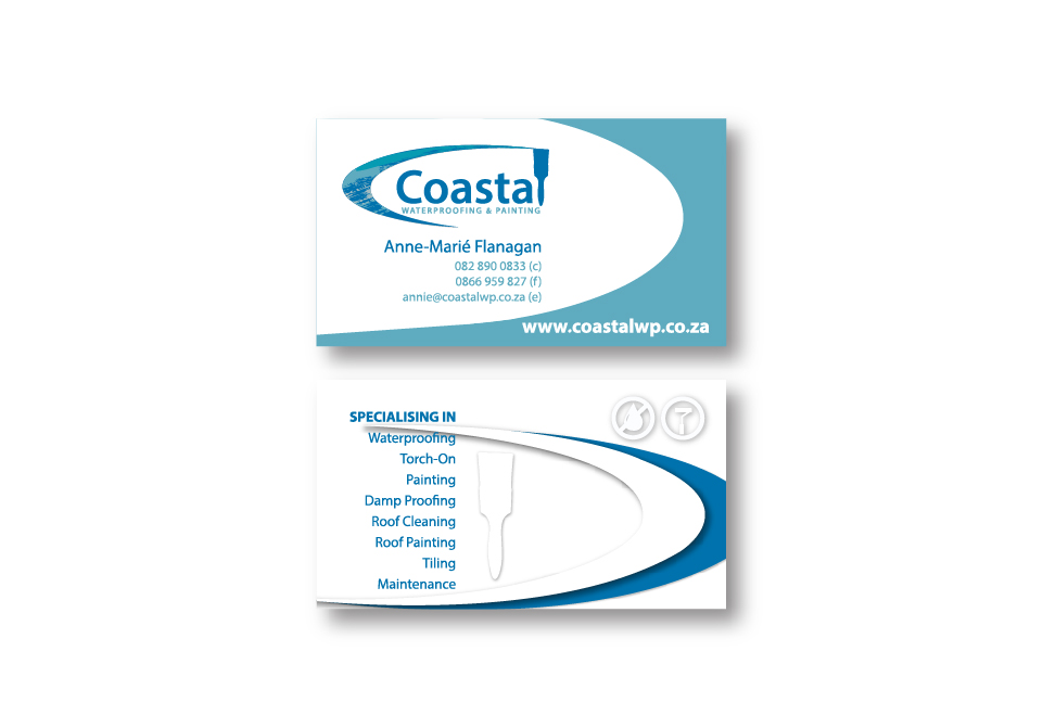 Coastal Corporate ID - Business Cards