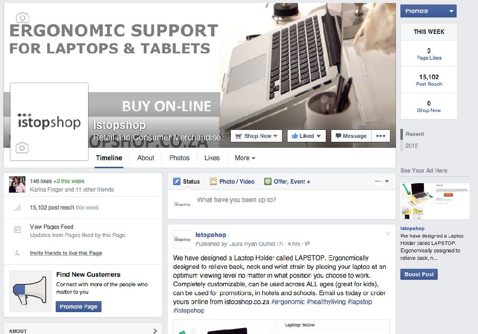 Istopshop Media - Social Media
