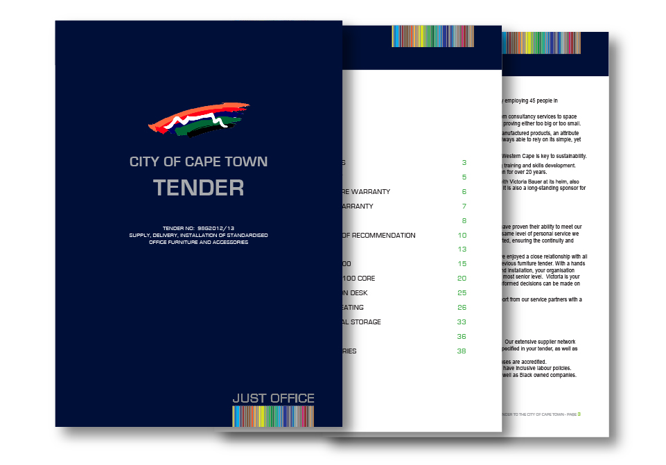 Just Office Tender Presentation Document