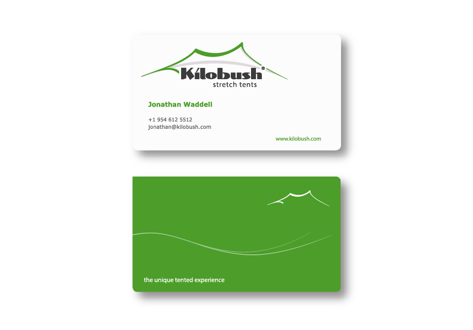 Kilobush Corporate ID - Business Cards
