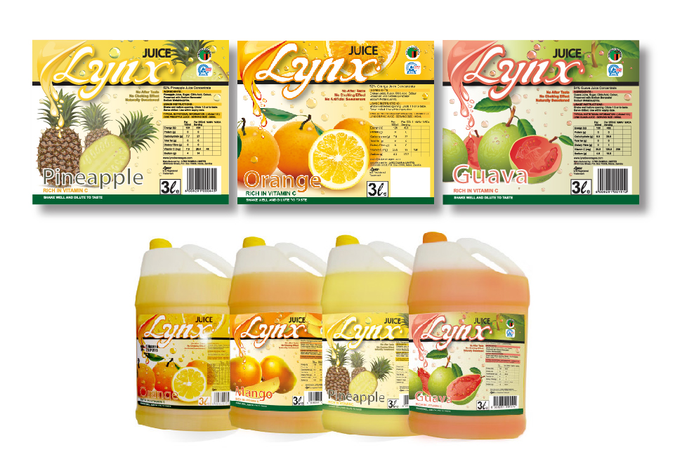 Lynx Packaging - Juice labels