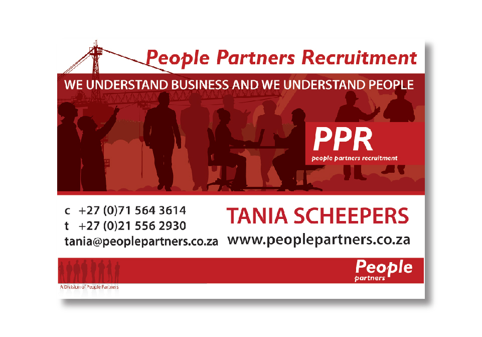 People Partners Signage - Car Magnet