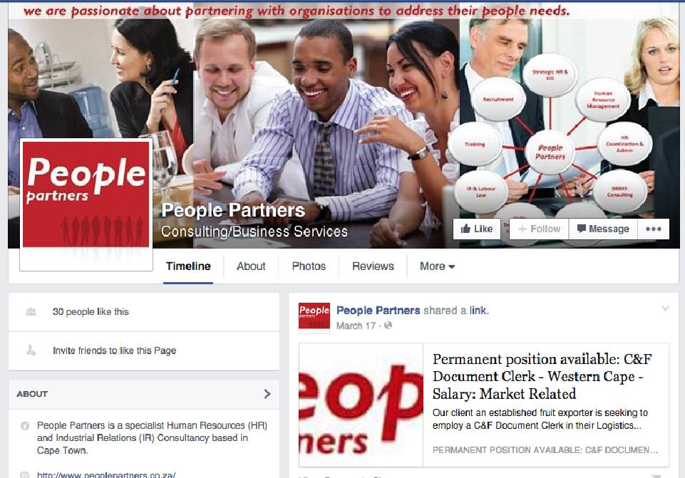 People Partners Social Media FB