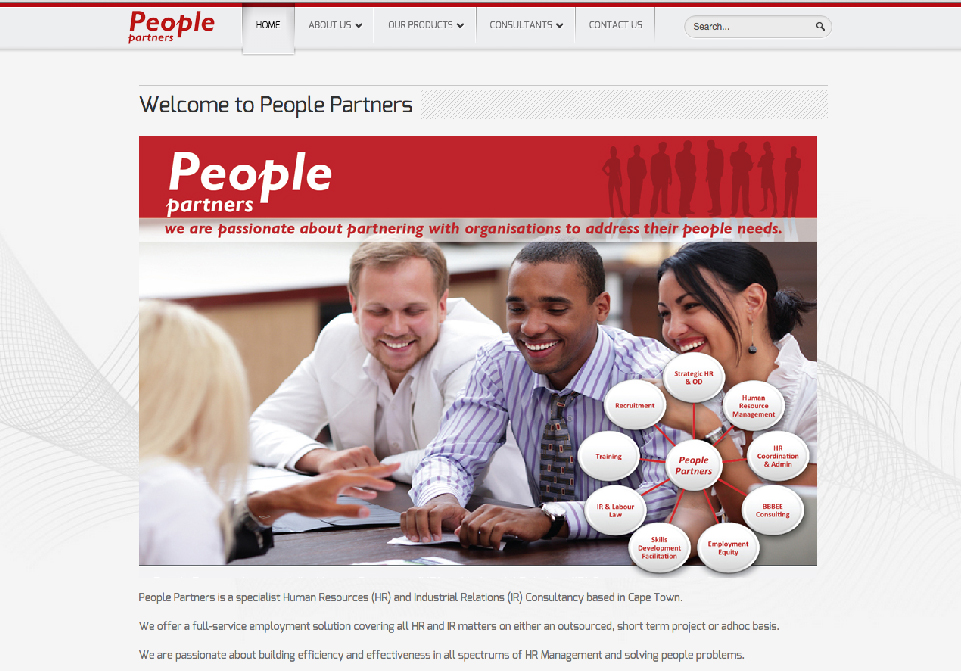 People Partners Website