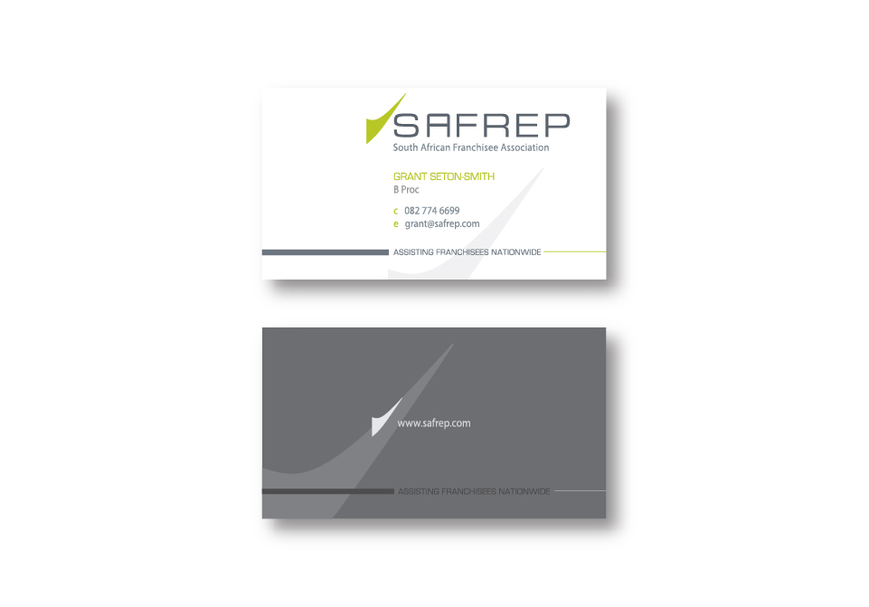 SAFREP Corporate ID - Business Cards