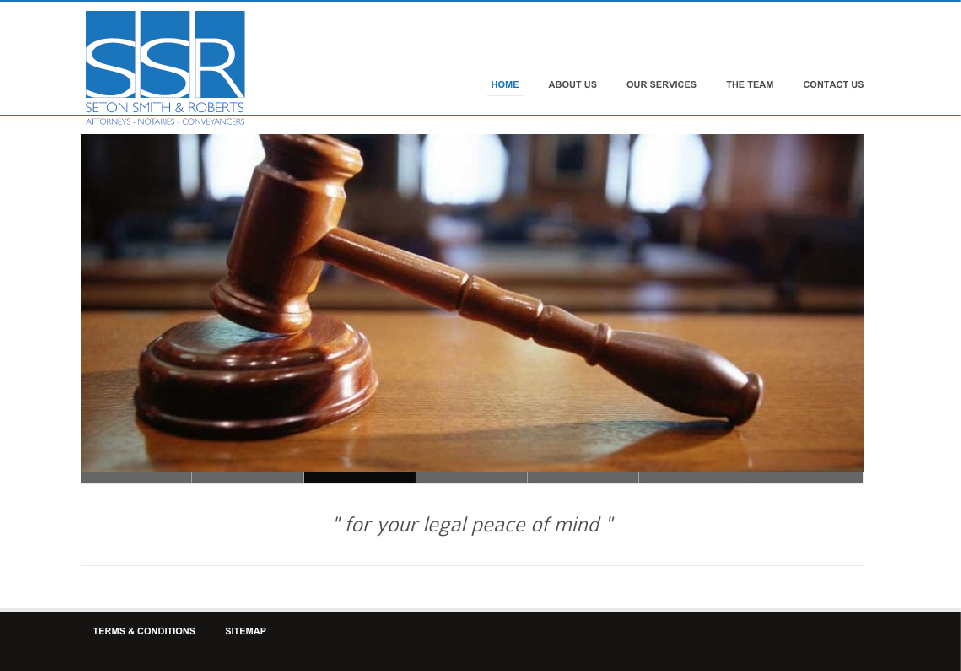 SSR Attorneys Website