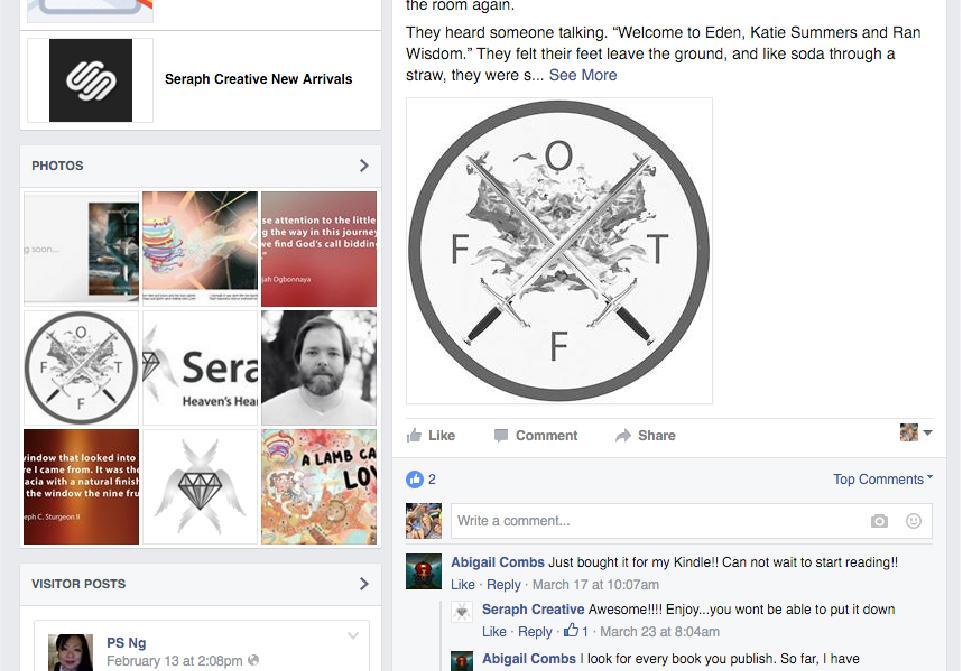 Seraph Creative Social Media - Facebook (2)
