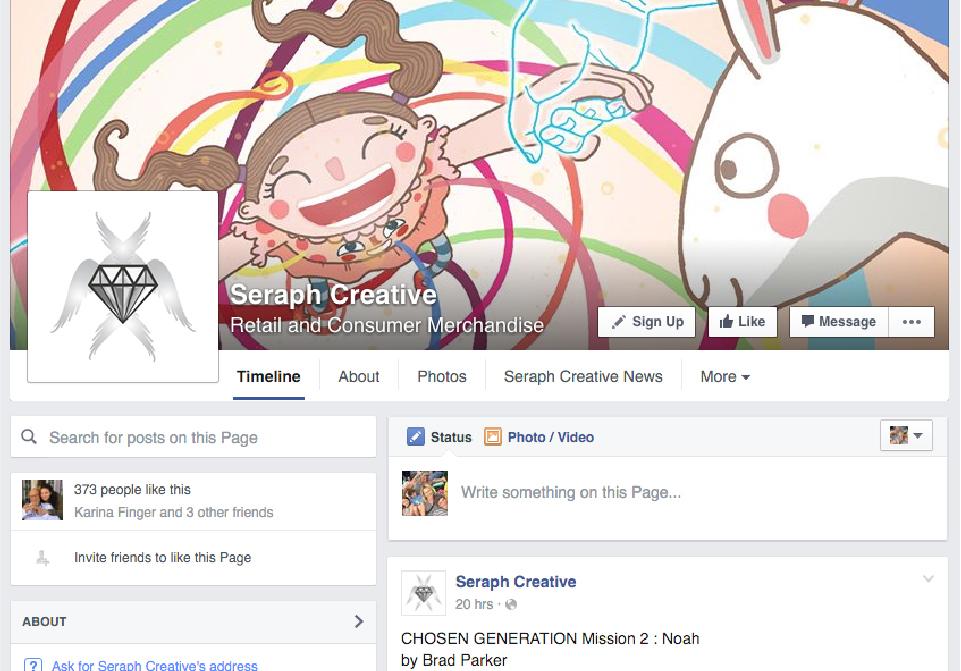 Seraph Creative Social Media - Facebook(1)