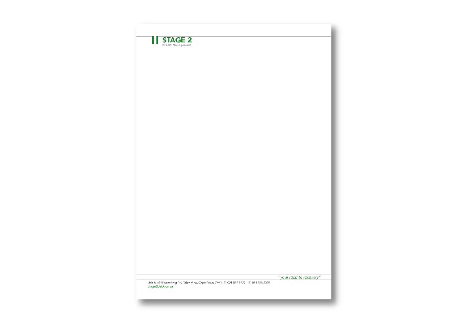 Stage2 Corporate ID - Letterhead