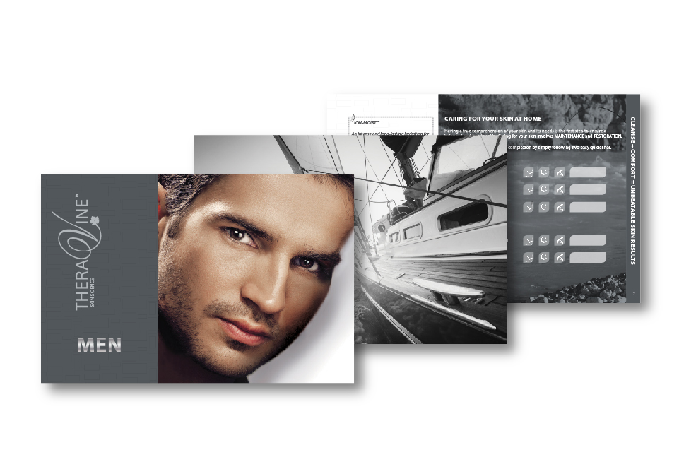 Theravine Brochures - MEN range