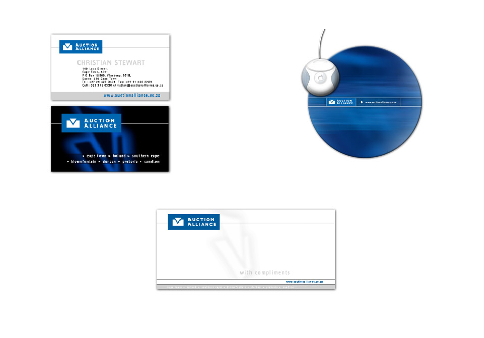 Auction Alliance - Corporate Identity