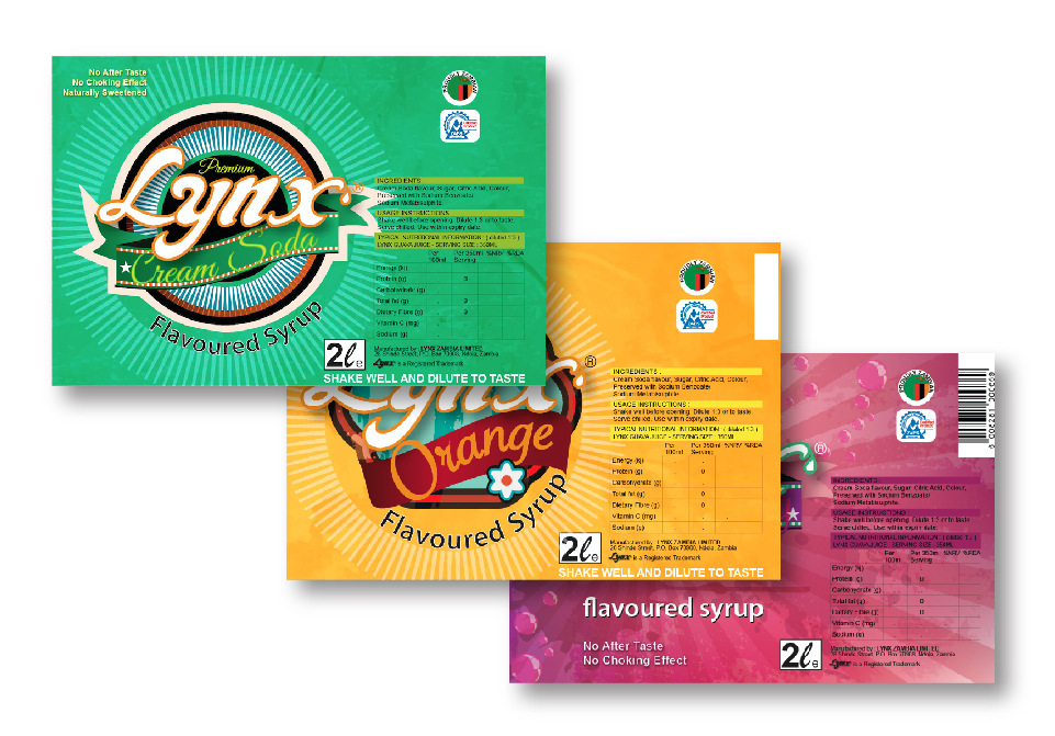Lynx Packaging - Cooldrink Labels