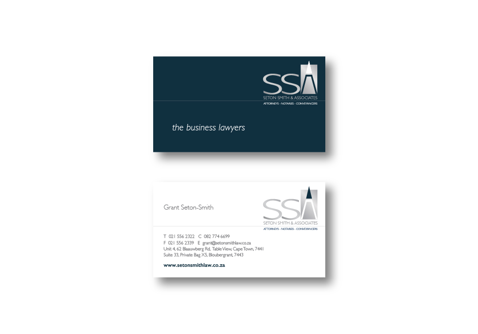 SSA Corporate ID - Business Card