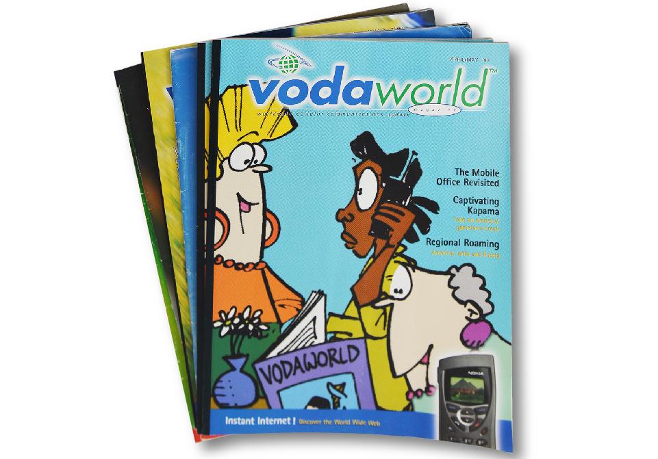 Vodacom Brochures - Vodaworld Magazines