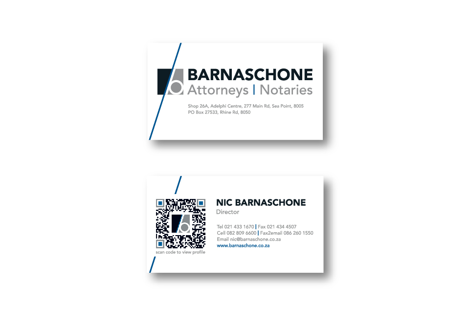 Barnaschone Corporate ID - Business Cards