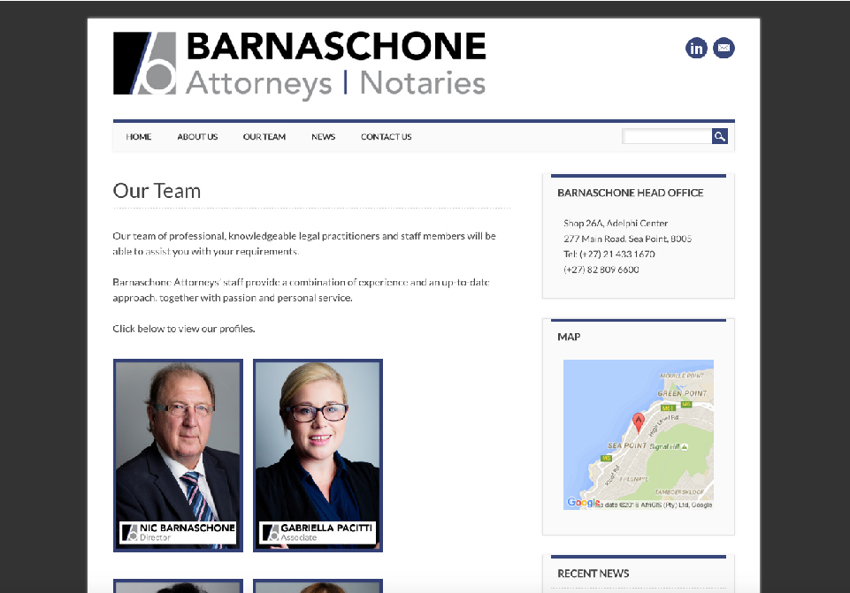 Barnaschone Website